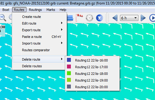 Weather Routing, Multi-routing